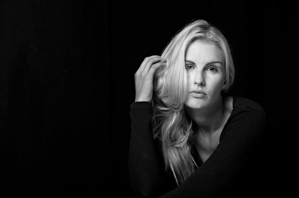 Olivia Spencer-Bower Inspired by Peter Lindbergh